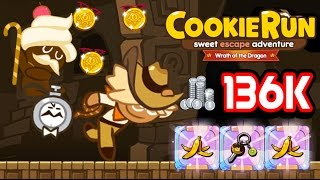 LINE CookieRun SS7 [EP.2] - 136K Coin Farm (+Burning Time)