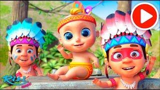 Джони и Индейцы | Johny Johny - Ten Little Indians | Counting Song - Nursery Rhymes на русском
