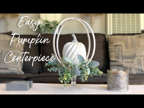 Fall Centerpiece   Fall DIY