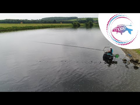 Alan Scotthorne Bloodworm Fishing On The River Trent.