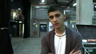 Zayn's nerves at X Factor bootcamp - itv.com/xfactor