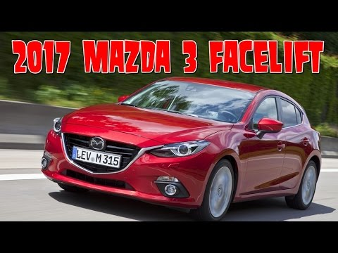 2017 mazda 3 facelift interior and exterior youtube. Black Bedroom Furniture Sets. Home Design Ideas