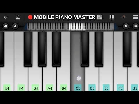 Tera Chehra Piano Tutorial || Adnan Shami || Mobile Perfect Piano Tutorial
