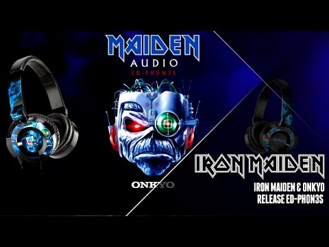Iron Maiden & Onkyo release ED-PH0N3S