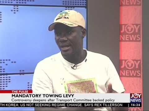 Mandatory Towing Levy - The Pulse on Joy News (2-8-17)