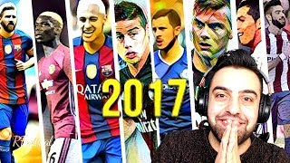 DÜNYA FUTBOLUNDA 2017 NIN UNUTULMAZ OLAYLARI ! REWIND 2017
