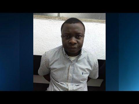 Africano que estava em liberdade provisória é preso por tráfico em SP   SBT Brasil (21/04/18)