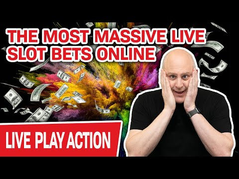 🔴 THE MOST MASSIVE LIVE SLOT BETS!!! 🍊 Farewell Florida… Now GIMME SOME JACKPOTS!