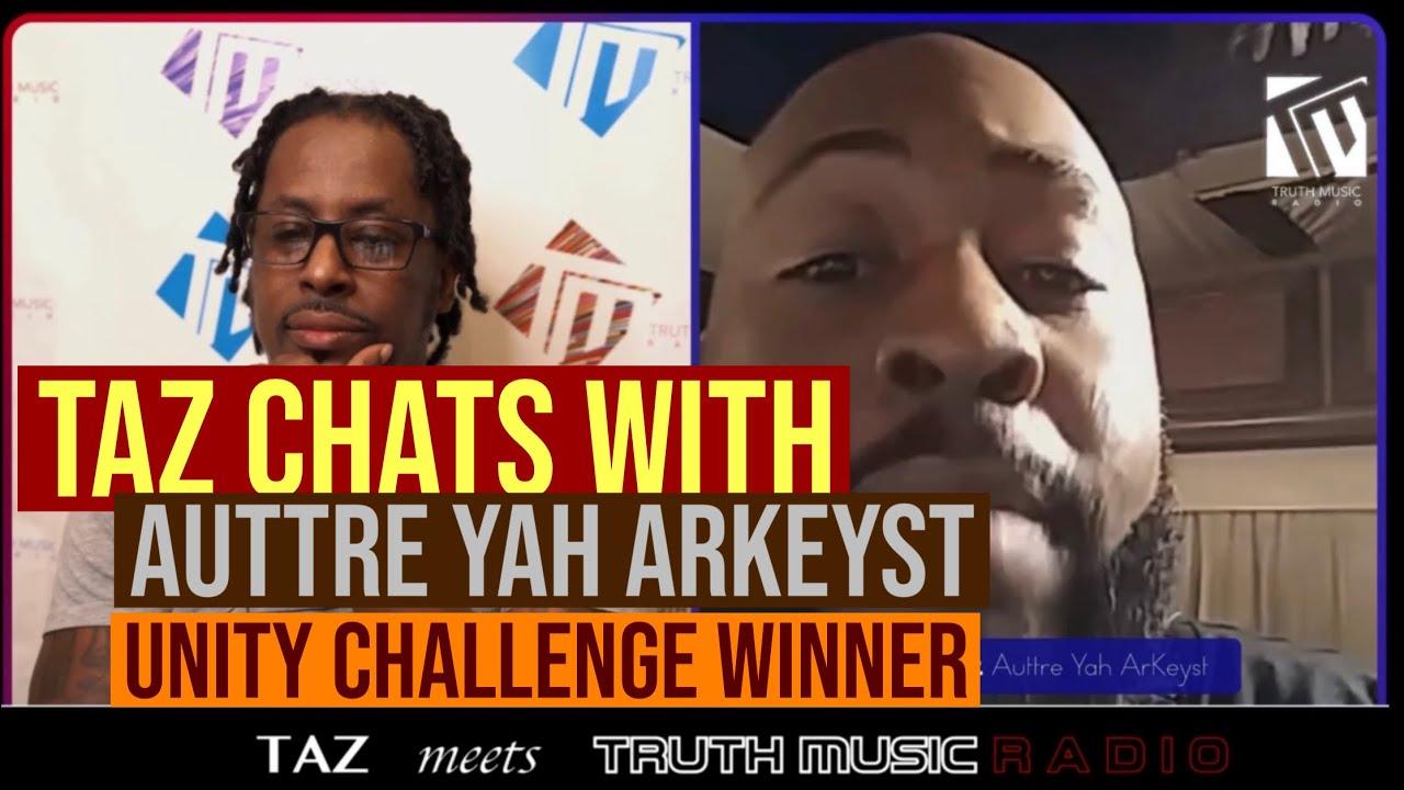 Taz talks with Auttre Yah ArKeyst | Raw Talent