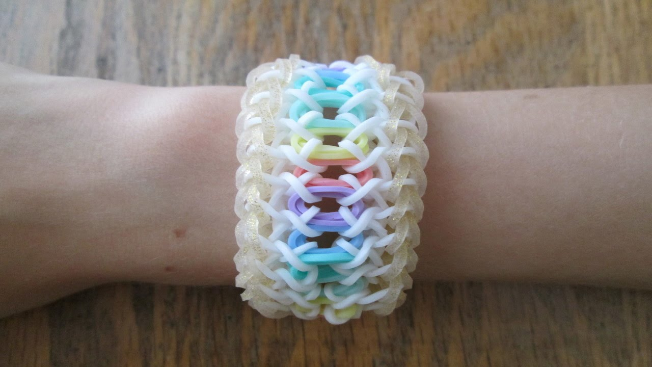 Rainbow Loom Lacelet Bracelet Original Design Youtube