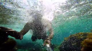 Majorca Holiday 2015 Snorkel Catching Fish GoPro Style