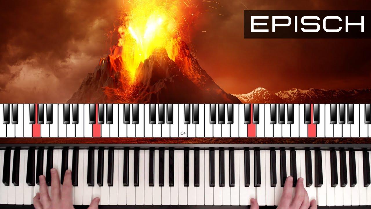 Epische Klavierimprovisation lernen - der Filmmusik auf der Spur!