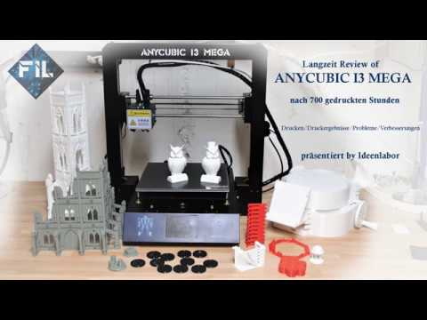 Langzeit Review (3 Monate) Anycubic I3 Mega