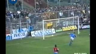 Italian Serie A Top Scorers: 1990-1991 Gianluca Vialli (Sampdoria) 19 goals