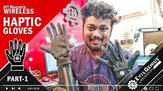 Wireless Haptic Control Gloves | DIY | Arduino | MATLAB | Animatronic Robot Hand | Tamil | Part 1
