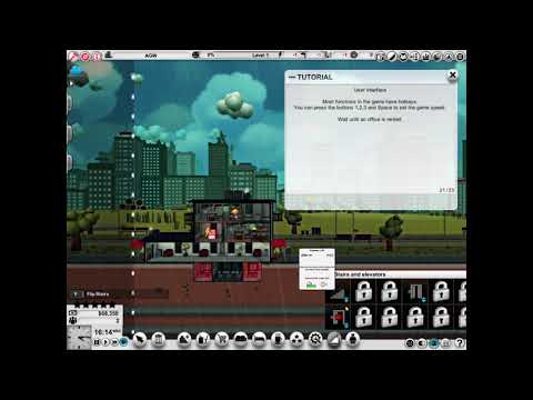 Mad Tower Tycoon Gameplay (PC Game) |