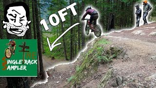 Seth's Bike Hacks and The Single Track Sampler Show Me How to Ride HUGE JUMPS! // Whistler Bike Park