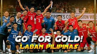 PHILIPPINES VS THAILAND VOLLEYBALL HIGHLIGHTS | MEN'S VOLLEYBALL | SEA GAMES 2019