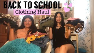 📚 Back To School Try-On Clothing Haul🌸