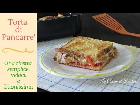 Torta di pancarré - Una ricetta semplice, veloce e buonissima