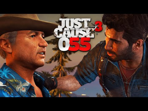 JUST CAUSE 3 [055] - FETT auf'm JET! ★ Let's Play Just Cause 3