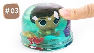 DIY How to Make Moana Ocean Pudding Jelly #03 - By MagicPang