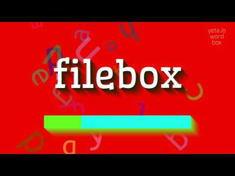 "How to say ""filebox""! (High Quality Voices)"