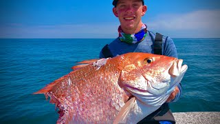 How to Catch DEEP SEA SNAPPER while drifting in the deep!