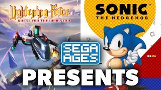 Sonic the Hedgehog and Lightening Force: Quest for the Darkstar now on Nintendo Switch! | SEGA AGES