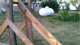 Trebuchet Firing A Water Balloon Part 2