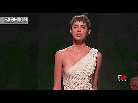 ARCHIE DICKENS Sangue Novo Spring Summer 2019 ModaLisboa - Fashion Channel