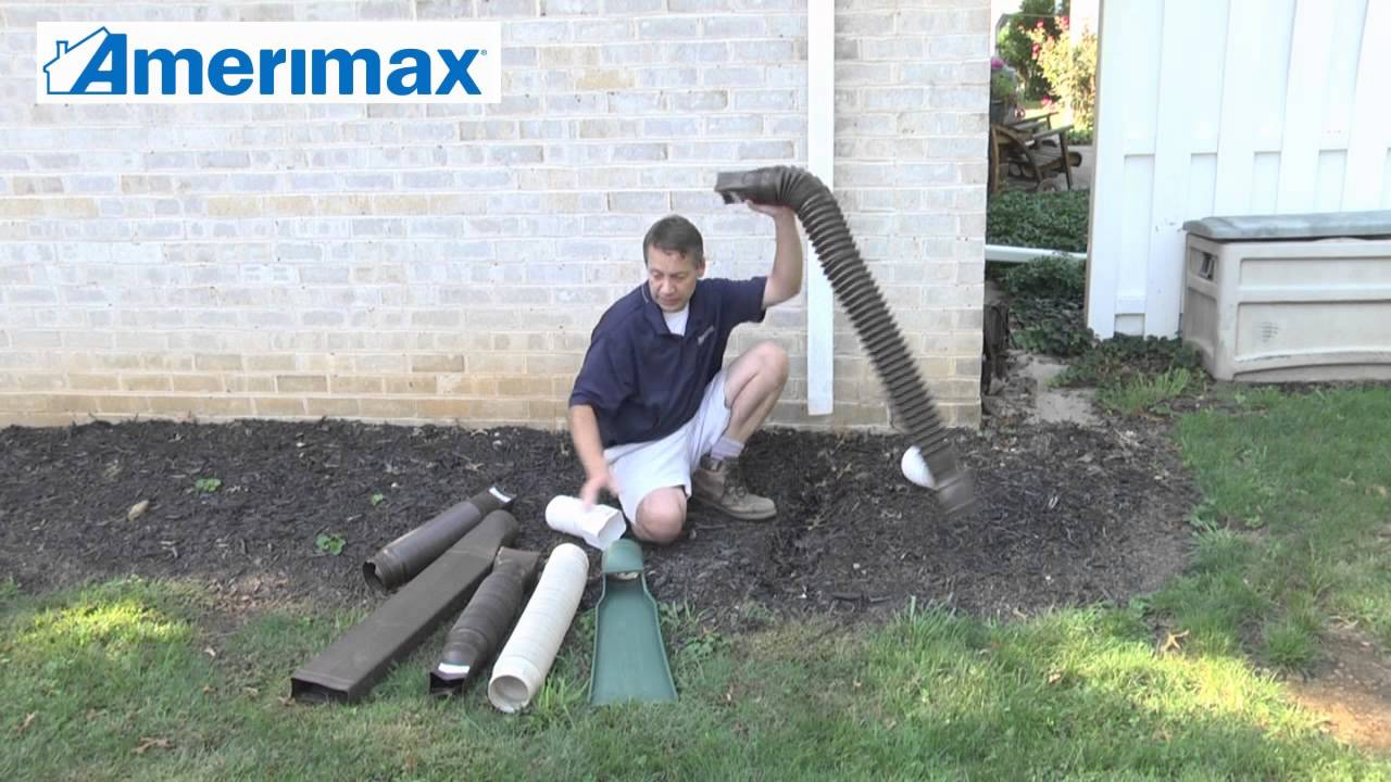Protect Your Home With Flex A Spout Extensions Youtube