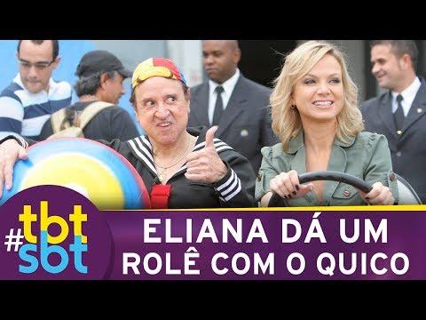Eliana dá um rolê com o Quico pelo SBT   tbtSBT