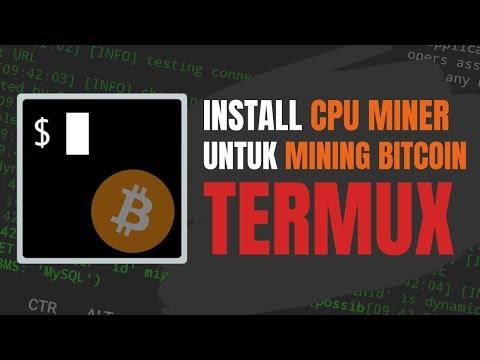 Cara Install CPU Miner Di Termux