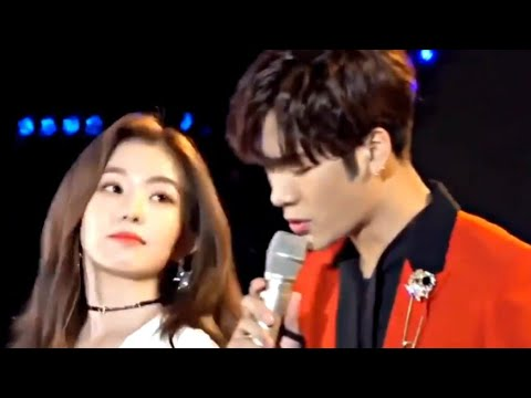 Irene being comfortable with men [COMPILATION]