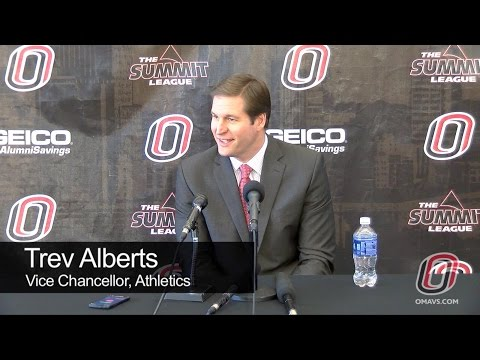 Press Conference: Trev Alberts - College Football Hall of Fame