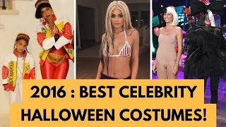 BEST Celebrity Halloween Costumes of 2016!