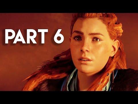 Horizon Zero Dawn Walkthrough Gameplay Part 6 - The War Chief (PS4 PRO Gameplay)