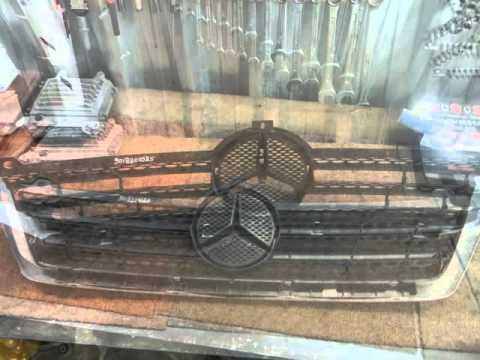 Решетка радиатора с накладкой Мерседес Спринтер A9018800385, 9018800385