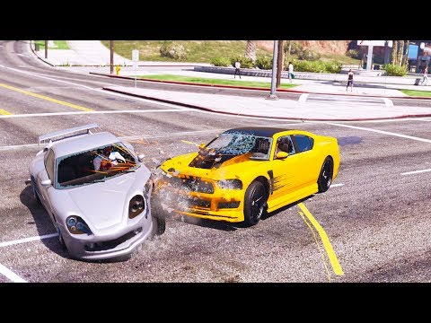 GTA 5: Realistic Crash Deformation Mod: Vol.8