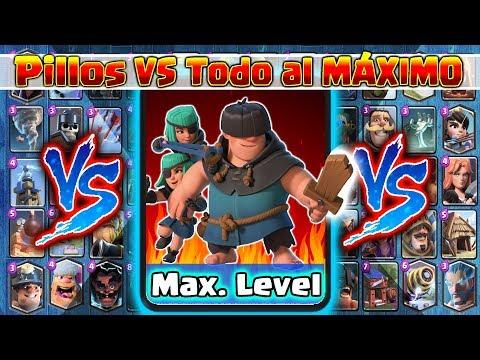 Pillos VS TODO al MAXIMO !! Clash Royale