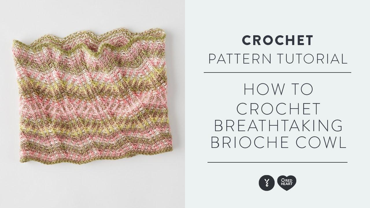 How to Crochet Breathtaking Brioche Cowl