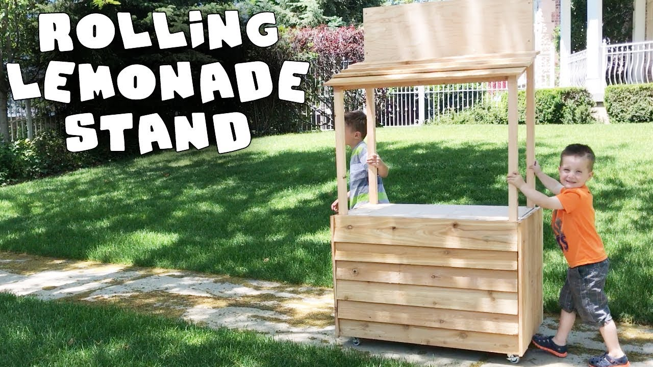 Make Your Own Rolling Lemonade Stand Youtube