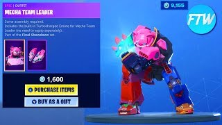 Fortnite Item Shop *NEW* ROBOT SKIN TEAM MECH VS TEAM MONSTER EMOTES!!! (Fortnite Battle Royale)