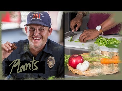 Can We Convince Firefighters to Eat Vegetarian?   Food Interrupted