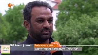 Deutsch: AFD protests building of Ahmadiyya Mosque in Thuringia, Germany