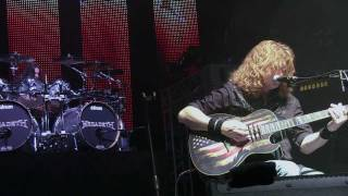"Megadeth ""Symphony Of Destruction"" unplugged set WRIF 2012"