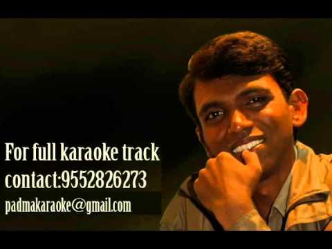 Jeev Dangala, Gungala, Rangala Karaoke By Padmakar Karaokelab Youtube