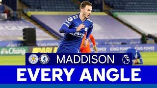 EVERY ANGLE | James Maddison vs. Chelsea | 2020/21