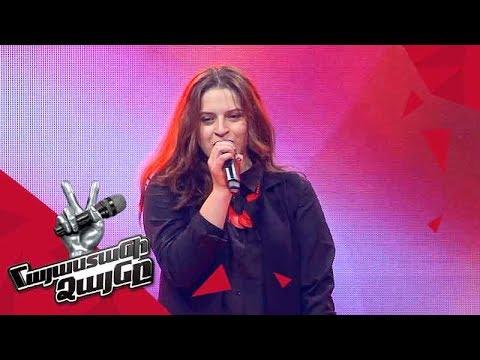 Marusya Khachatryan sings 'Human' - Blind Auditions - The Voice of Armenia - Season 4